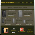 Old Website - Petersons Outdoors / Corp.